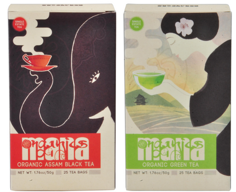 Mana Organics Tea Bags Twin Pack