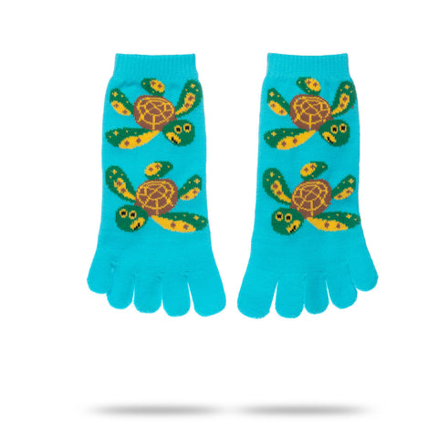 SEA TURTLE TOE SOCKS (KIDS)