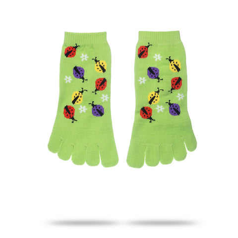 LADY BUG TOE SOCKS (KIDS)