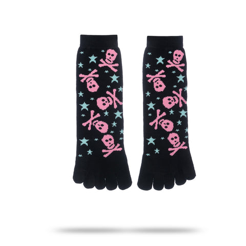 SKULL STAR TOE SOCKS