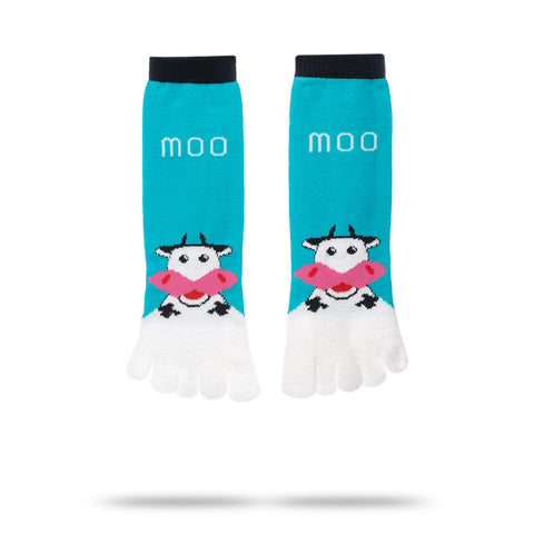MOO...COW TOE SOCKS