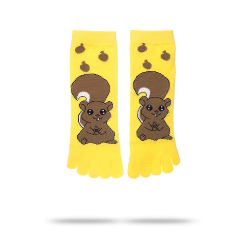 SQUIRREL TOE SOCKS