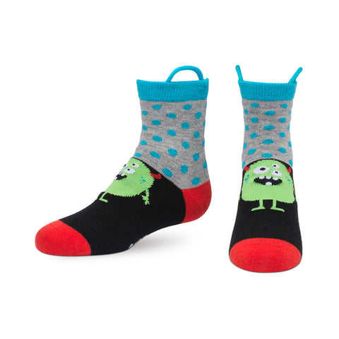 Monster Socks PolkaDots