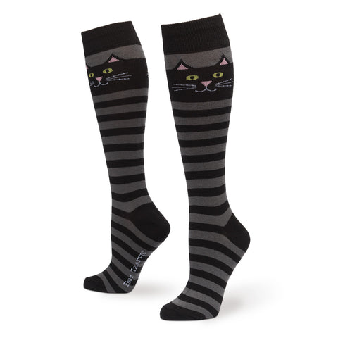 Cat Stripe Knee High