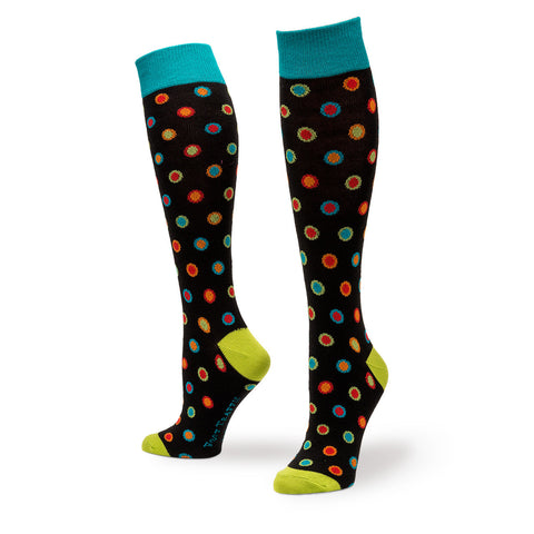 Bright Dots Knee High