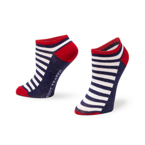 Americana No-Show Socks 3 Pack