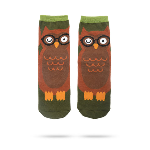 Owl Slipper Sock