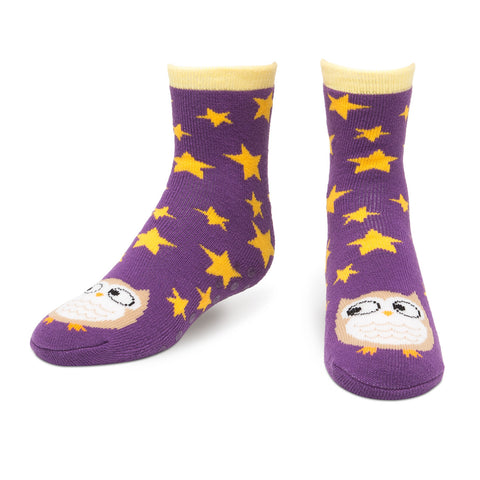 Owl Tube Slipper Socks