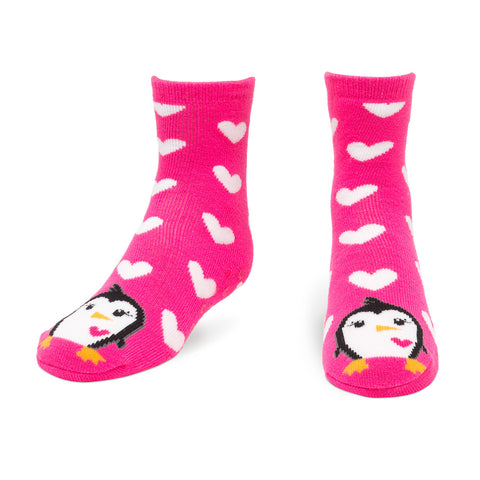 Penguin Tube Slipper Socks