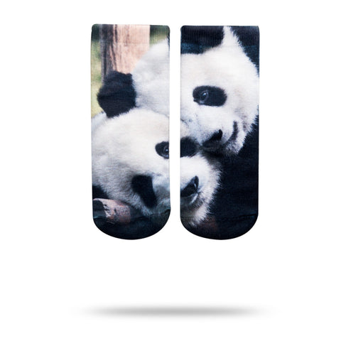 Panda Bear Ankle Socks