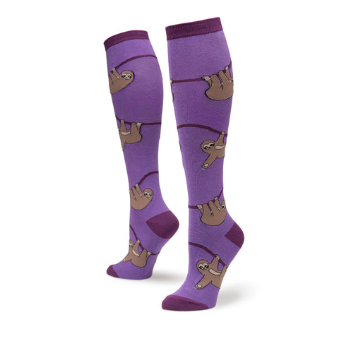 Sloth Knee Highs