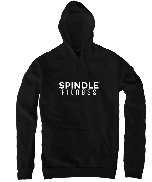Pullover Hoodie with White Logo (5 Colors)