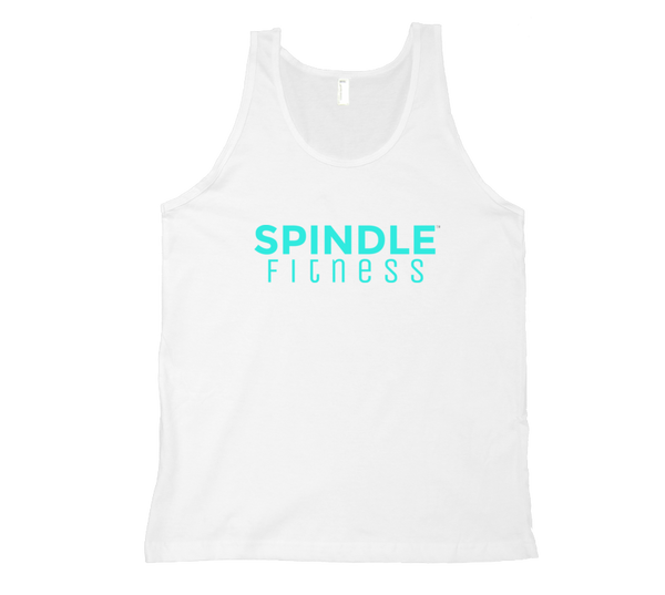 Men's Tank with Teal Logo (6 Colors)