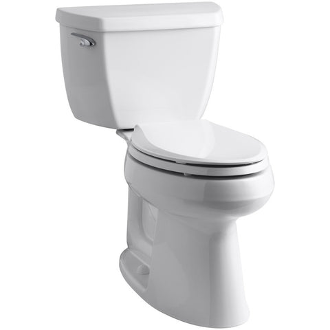 "Elongated ADA Highline Toilet 17"" Tall with Installation"