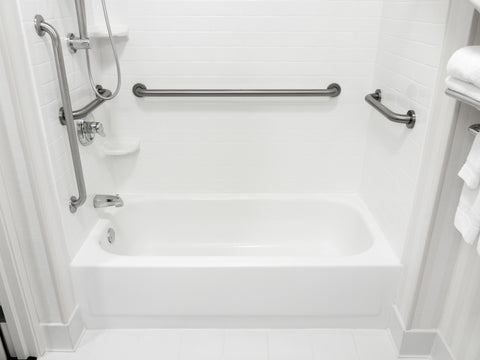 moen bathroom safety grab bars multiple options