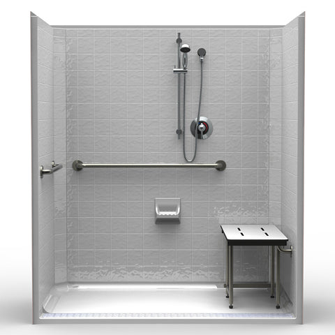 Walk In Showers - Bathroom Remodeling ADA Compliant