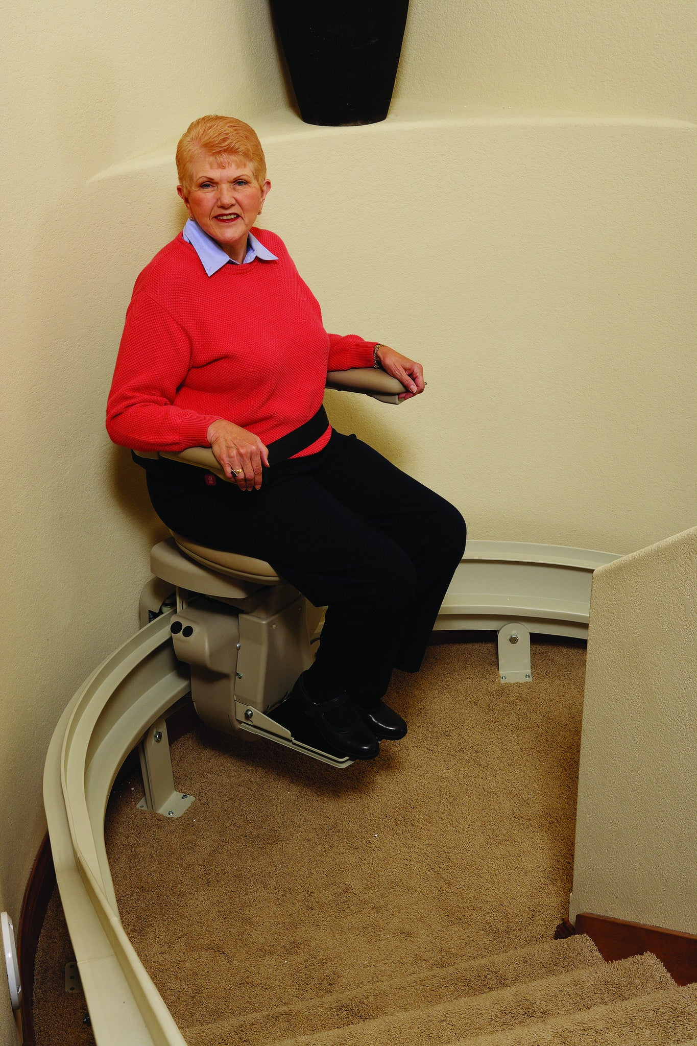 Bruno Elite Curve Stair Lift Safe Home Pro