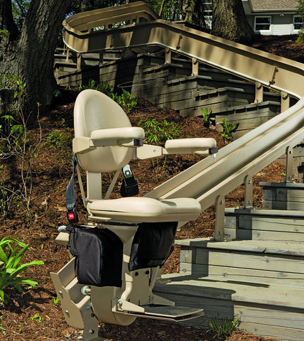 Bruno Elite Outdoor Curve Stair Lift