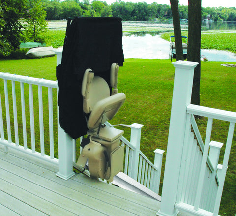 Bruno Elite Outdoor Straight Stair Lift