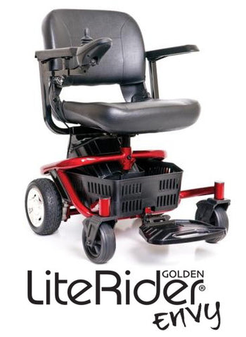 LiteRider Envy Portable Power Wheelchair by Golden Technologies