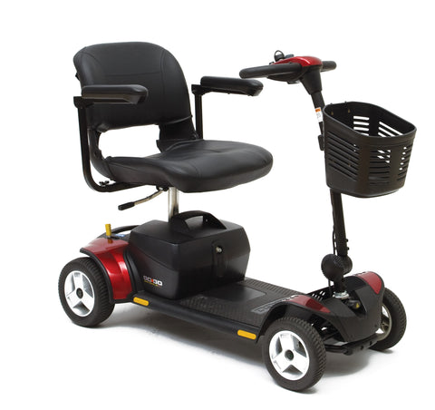 Pride Go-Go Elite Mobility Traveler Scooter 4 Wheel