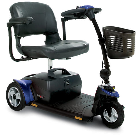 Pride Go-Go Elite Mobility Traveler Scooter - 3 Wheel
