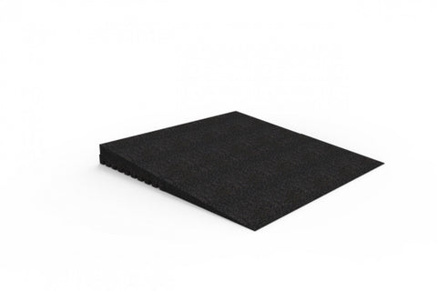 "EZ-ACCESS Flat Edge Rubber Threshold Wheelchair Ramp 2.5""-4.75"""