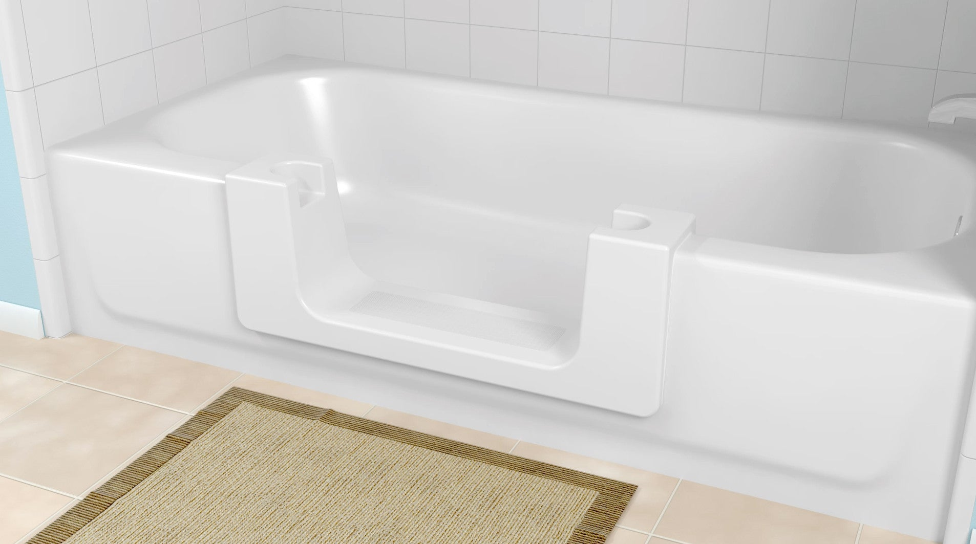 Walk In Convertible Bath Tub for Easy Entry – Safe Home Pro