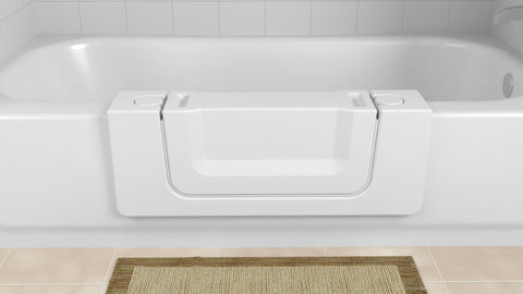 Walk-In Convertible Bath Tub for Easy Entry