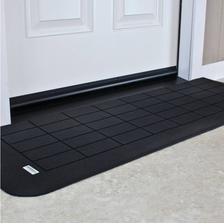 ... EZ Edge Safe Path Rubber Threshold R& (1/2 -2 ) & EZ Edge Safe Path Rubber Threshold Ramp (1/2