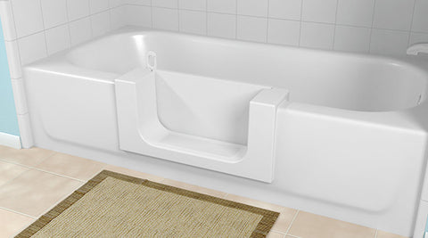 Walk-In Bath Tub with Door