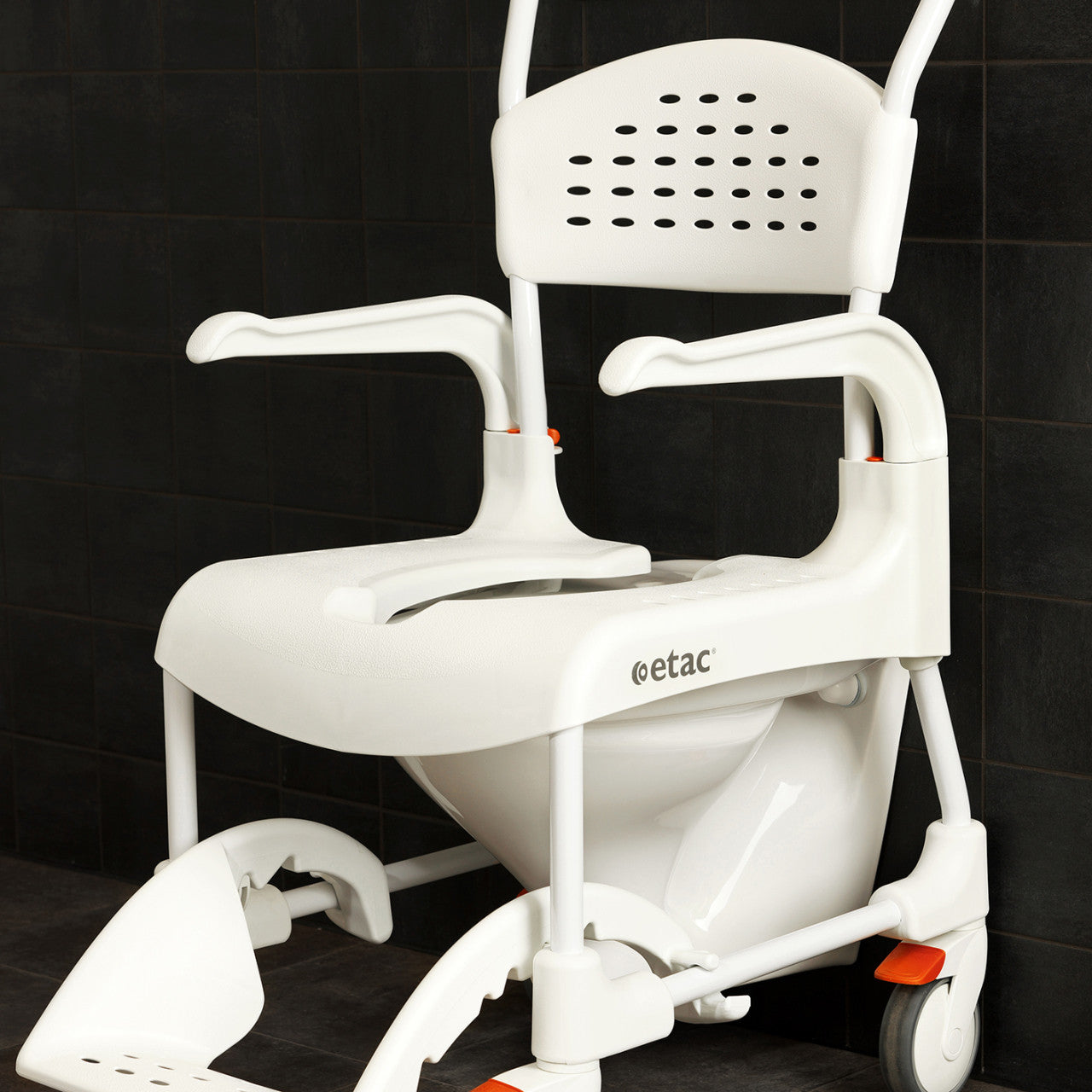 etac clean shower commode chair with adjustable height safe home pro