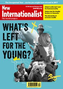 What's left for the young?- NI 509 - Jan/Feb 2018 - New Internationalist New Zealand
