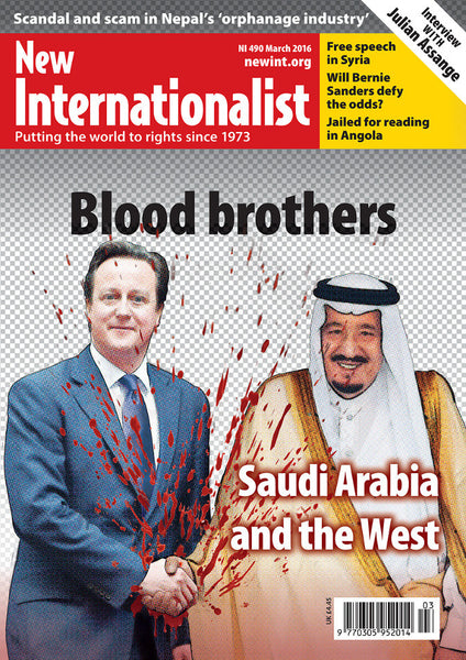 Blood Brothers - NI 490 - March 2016 - New Internationalist New Zealand