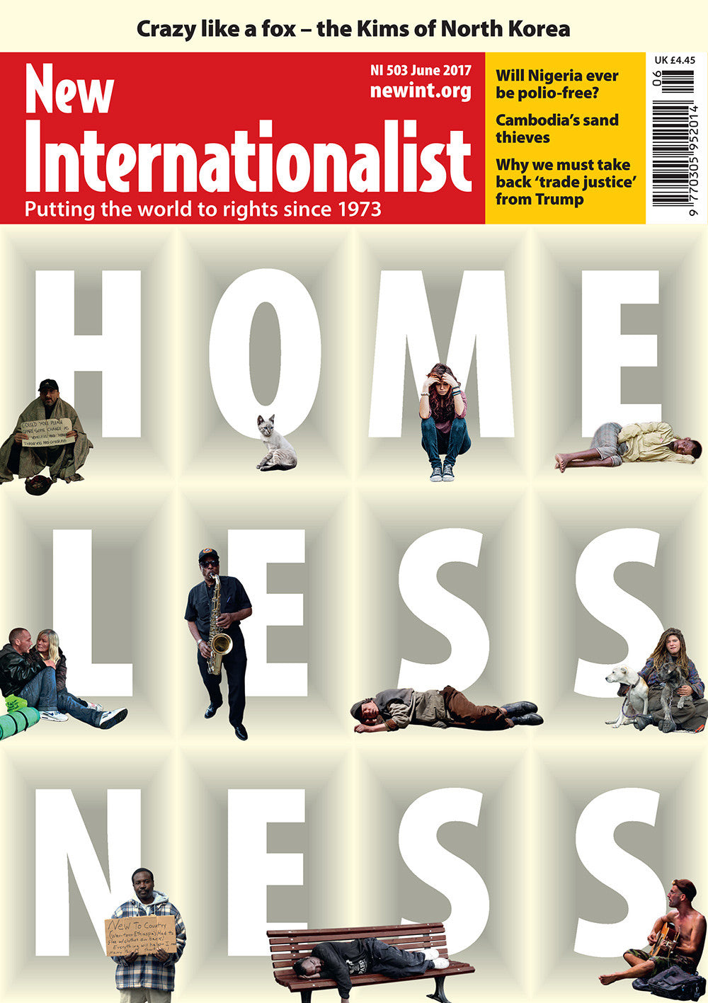 Homelessness - NI 503- June 2017