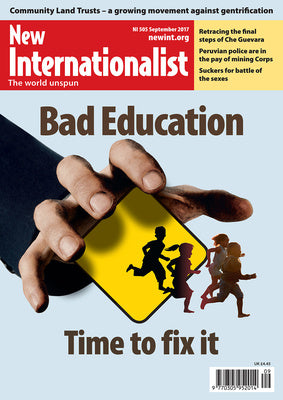 Bad Education - NI 505 - September 2017 - New Internationalist New Zealand