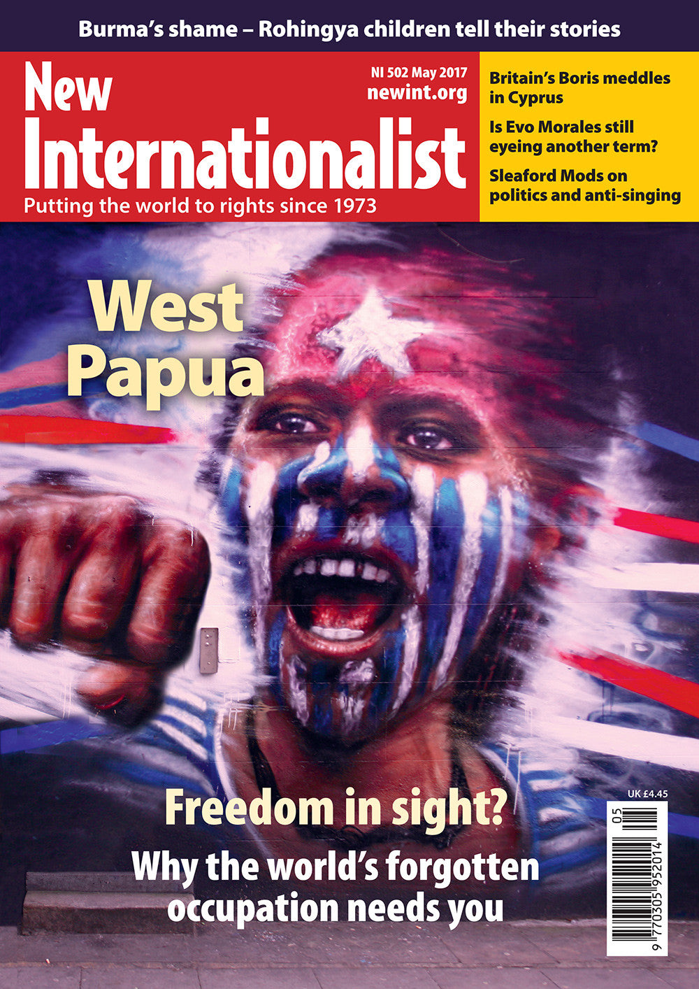 West Papua - Freedom in sight? - NI 502- May 2017