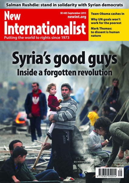 Syria's good guys - inside a forgotten revolution - NI 485 - September 2015 - New Internationalist New Zealand