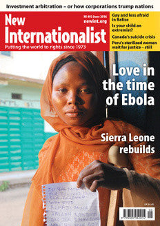 Love in the time of Ebola - NI 493- June 2016 - New Internationalist New Zealand