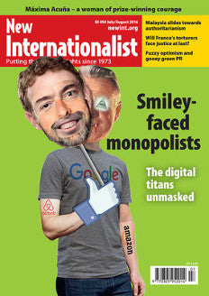 Smiley Faced Monopolists - NI 494- July/August 2016 - New Internationalist New Zealand