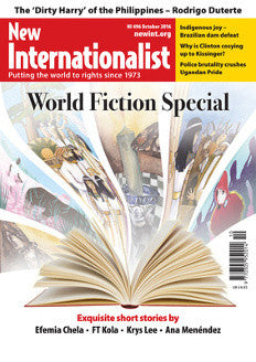 World Fiction Special - NI 496- October  2016 - New Internationalist New Zealand