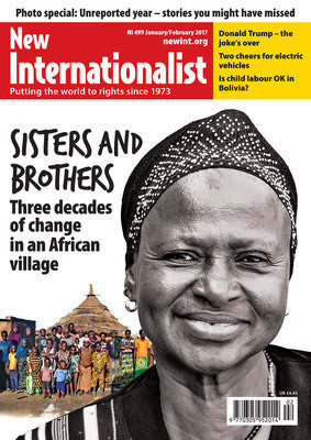 Sisters and brothers - Three decades of change in an African Village - NI 499- Jan/Feb 2017 - New Internationalist New Zealand