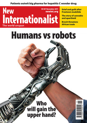 Humans vs robots - NI 507 - November 2017 - New Internationalist New Zealand