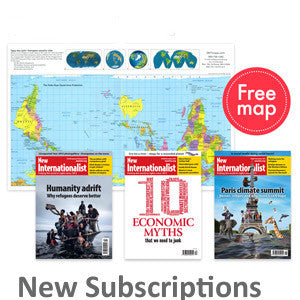 New Internationalist Subscription - New member - New Internationalist New Zealand