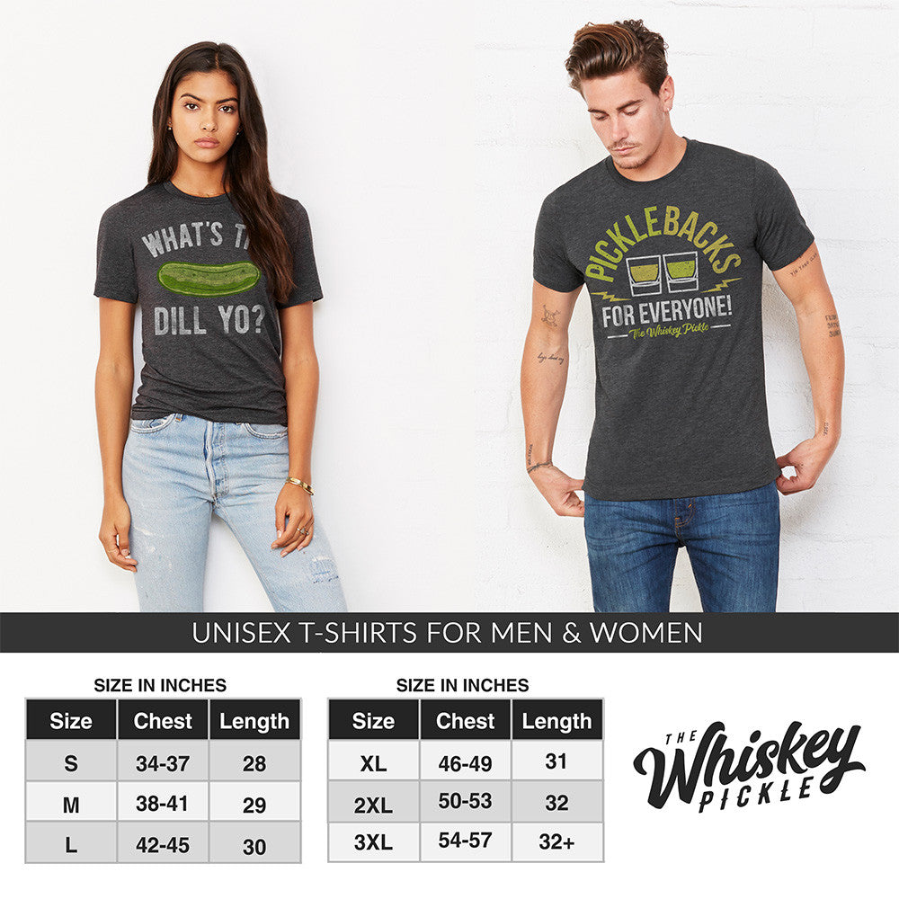 Pickle Shirts - What's The Dill Yo? T-Shirt