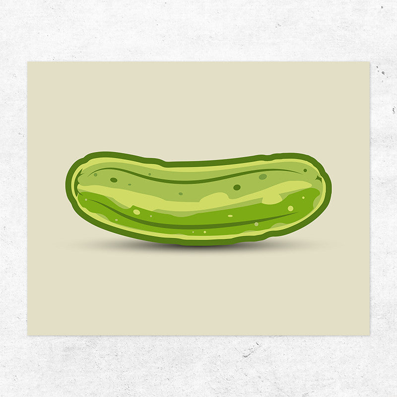 Pickle Shirts - Big Dill Pickle Wall Art