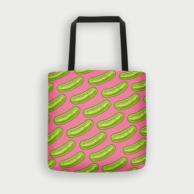 Pickle Shirts - Pop Culture Pickles Tote Bag