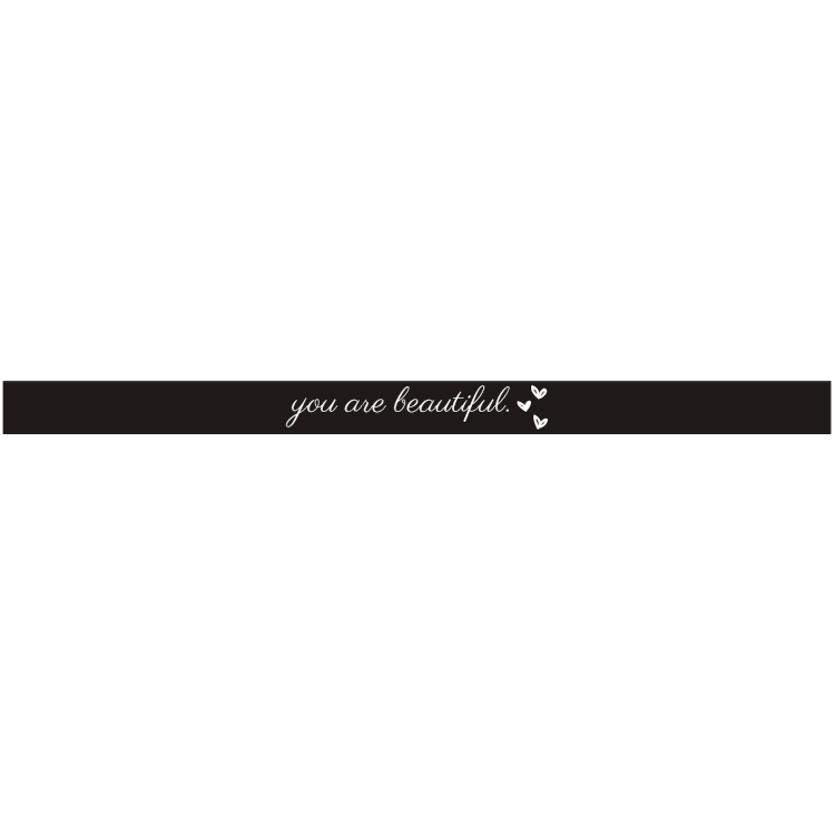 """you are beautiful."" Bracelet ♥ - Underlying Beauty - 2"