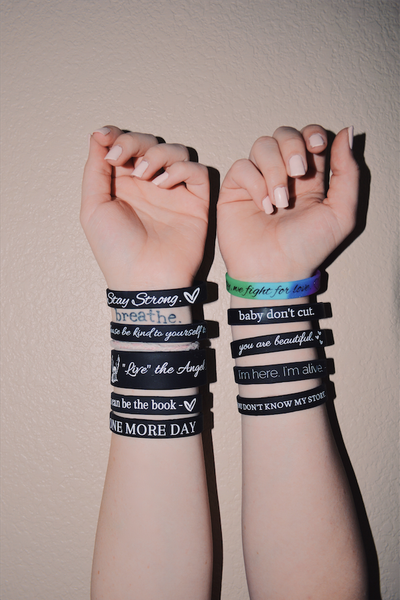 ALL 10 Suicide Prevention / Self love Bracelet Bundle :) - Underlying Beauty - 1