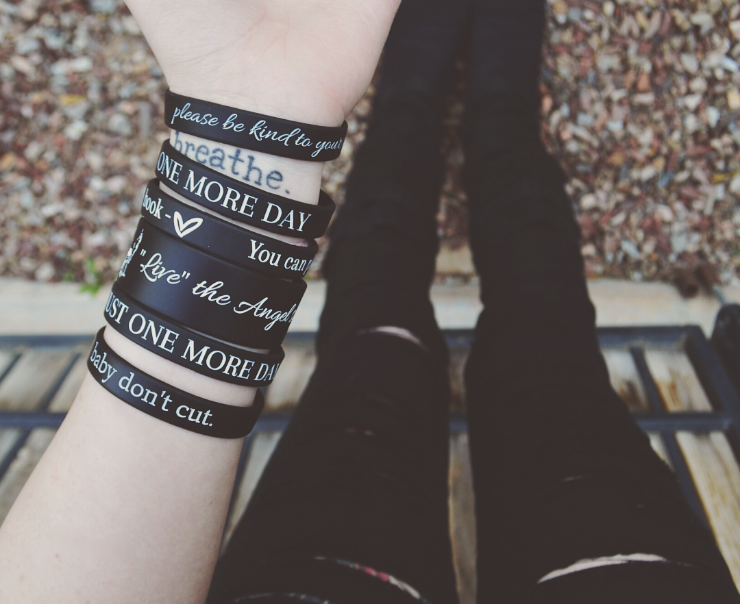 Suicide Prevention Bracelets (All 5) ♥ - Underlying Beauty - 5